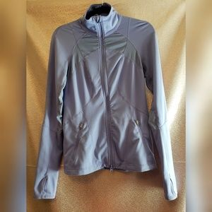 Zella Mesh Full Zip Jacket Small Purple